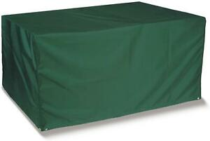 RECTANGULAR GARDEN TABLE COVER  6 SEATER OUTDOOR TABLE COVER  100% WATERPROOF