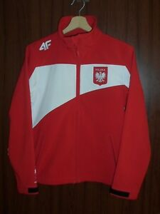 GAMES WORN POLAND OLYMPIC TEAM 2010 VANCOUVER Tracksuit JACKET Jersey size S