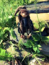 OOAK Troll Pixie Handmade Doll Sculpture Art Faery Faerie From Arctic Norway