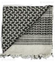 100% Cotton Arab Military Shemagh Headscarf keffiyeh Veil Wrap Face Cover Scarf