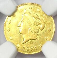 1870 Liberty California Gold Half Dollar 50C Coin BG-1024 - Certified NGC AU53