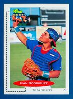 Ivan Rodriguez #136 (1991 Classic Best) Minor League Tulsa Drillers, Rookie!