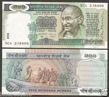 ★★★ 500 Rupees ~ C.Rangarajan ~ 3rd Issue ~ UNC ~ H-3 ★★★ bb85