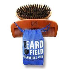 Beard Brush 100 Boar Bristle Beard Comb Kit for Men | Beardfield