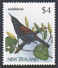 New Zealand 770A block/4,MNH.Michel 961. Birds.1986.Saddleback