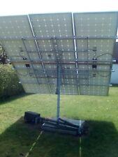 Bauanleitung Solartracker Nachführung PV Tracking Drehanlage Solarmodul