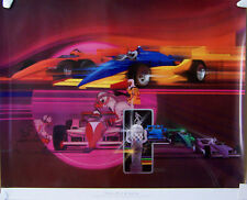 POSTER ~ 1987 INDIANAPOLIS 500 ~ THE PIT CREW
