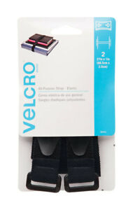 "Velcro 90441 Velstretch Straps, 1"" X 27"",  Set of 2"