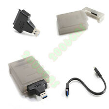 US USB 3.0 To SATA Serial ATA HDD Converter Adapter Cable With 2.5 Inch Box Case
