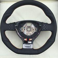 Vw Gti Flat Bottom MFSW Rline Gtd R32 Steering Wheel DSG Mk5 Jetta Caddy Touran