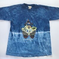 Walt Disney World Kids Tie Dye T-Shirt Size Large Youth Fantasia
