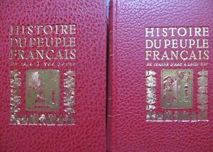 Histoire du peuple français en 5 volumes, 1968
