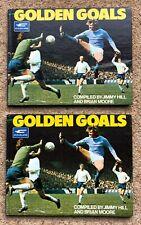 2 ORIGINAL CLEVELAND GOLDEN GOALS ALBUMS, ONE COMPLETE & ONE UNUSED, 1972.