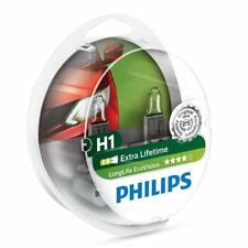 AMPOULE H1 12V 55W Philips LongLife EcoVision 12258LLECOS2 Set