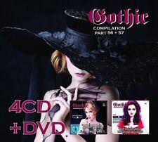 GOTHIC 56+57 4CD+DVD BOX 2013 LTD.500 Lacrimosa SAMSAS TRAUM Nachtmahr DE/VISION