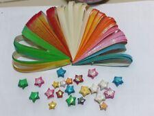 840 Strips Cute Heart Origami Folding lucky Star Paper