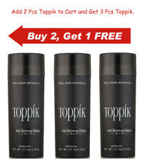 Toppik Hair Building Fibers - 27.5g / 0.97 oz (Buy 2 Get 1 Free) - Ship Fast....