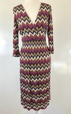 Sportscraft June Print Dress Size 10