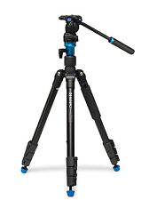 Benro Aero 2 A1883fs2 Video Travel Angel Aluminum Tripod Kit Monopod Max 62""