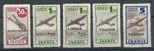 Spain 1945 Iberia Air line Lisboa Tanger Marruecos Aero Montepio MNH