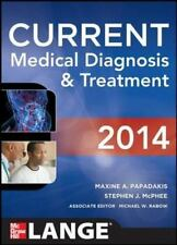 CURRENT Medical Diagnosis and Treatment 2014 (LANGE CURRENT Series) by