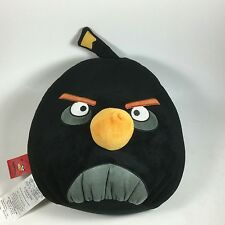 ROVIO ANGRY BIRD BLACK BIRD SOFT PLUSH PILLOW