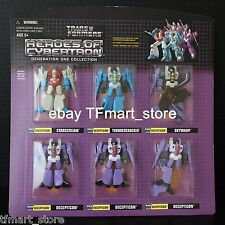 Transformers Botcon 2003 OTFCC HOC PVC Decepticon Seeker Jets Rainmakers ACT