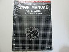1997 Honda EZ3500 EZ5000 Generator Service Repair Shop Manual OEM Book New