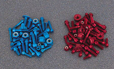 KAWASAKI ZX9-R KIT VITI MOTORE ROSSO  ANNO MODELLO 1998-99 /ENGINE KIT BOLT RED