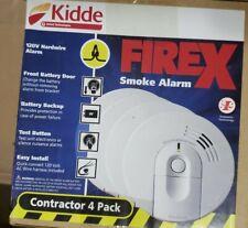 Kidde (Firex) Smoke Alarm 21007588(4-Pack)