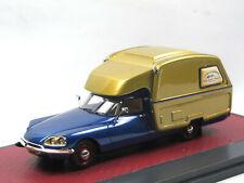 Matrix Scale Models 1973 Citroen ID / DS Camper blue / gold 1:43 Limited Edition