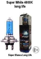 KIT LAMPADINE LED SUPER WHITE H1 12V 2pcs. 4000K long life