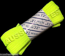 Roller Derby Fat Neon Quad Roller Skate Laces (71 inches) 183cm - Yellow