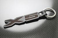 BMW X5 Porte clé cuir, porte-clés, porte-clef, porte-clés sport Msport E53 E70