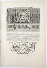 Gravure de Ponse d'après Marillier, Pierre Corneille