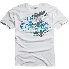 NEW FOX RACING MOTOCROSS JUGGER TEE T SHIRTS LARGE WHITE  ZZ66