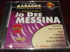 CHARTBUSTER 6+6 KARAOKE DISC 20482 JO DEE MESSINA VOL 2 CD+G COUNTRY MULTIPLEX
