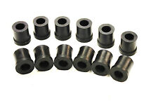A SET OF 12 REAR SPRING BUSHES FOR THE MORRIS MINOR