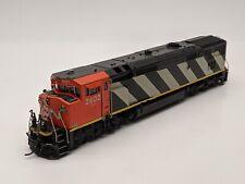 """Overland Brass HO Dash 8-40CM - Canadian National / CN """"Stripes"""" #2402"""