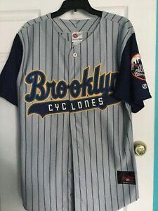 BrooklynCyclones Rawlings 2001 Inaugural Season  Jersey Sz 40