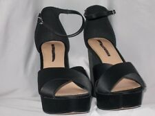 WOMEN'S SHOES SIZE 8 WHO WHAT WHERE Black HEELS CHRISTMAS PARTY NEW YEARS