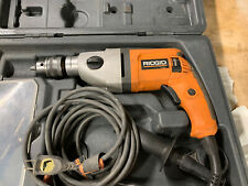 "Ridgid Electric Drill 120v  AC 040751420 ( R7100 1/2"" ) ( 13 mm) 60HZ W/ Case"