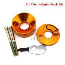 Pocket Bike Gold Carb Air Filter Adapter Vstack For 47cc 49cc Mini Dirt Bike ATV