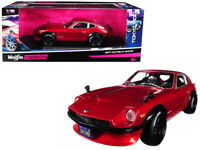 1971 DATSUN 240Z RED TOKYO MOD 1/18 DIECAST MODEL CAR BY MAISTO 32611r
