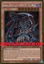Yu-Gi-Oh Drago Armato Oscuro PGLD-IT064 Gold Ultra in ITA Dark Armed Dragon Nuov