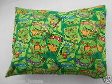 Full Size Pillowcase Teenage Mutant Ninja Turtles 100% Cotton