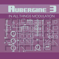 FREE US SHIP. on ANY 2 CDs! NEW CD Aubergine 3: In All Things Modulation