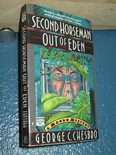 Second Horseman Out of Eden by George C. Chesbro *FREE SHIPPING* 0445408626