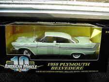 1958 Plymouth Belvedere Green 1:18 Ertl American Muscle 32615