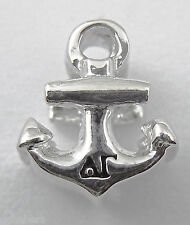 Delta Gamma, ΔΓ, Large Hole Euro Bead Anchor Sterling 2 Sided Greek Lettering